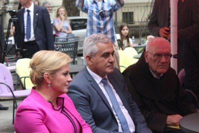 Kolinda Grabar Kitarović i fra Andruja Nikić